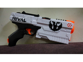 Nerf Rival Kronos Priming Grip, Flip Up sight and Display Stand