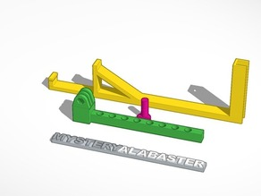 Adjustable Replicator 2 Gopro Mount