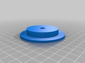 My Customized ExcelFil Filament Spool Plug 50 mm