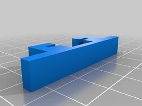 Socket rail foots
