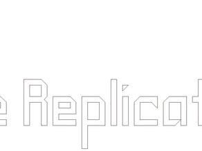 The Replicator Logo [DXF]