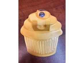 Cupcake Coaster/Razor Holder