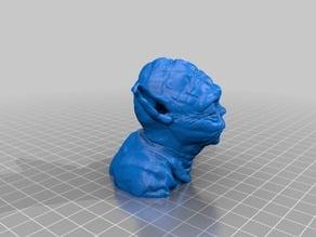 Yoda Bust Hi Res 56mb