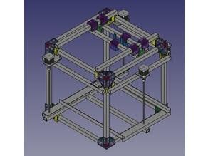 Chasis para montar una impresora 3D para experimentar