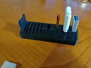 USB-SD-MicroSD Holder