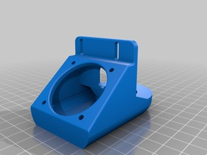 Prusa i3 Fan Duct for J-Head & Wade - Improved Ver. 3