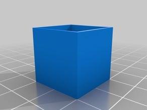 XYZ Calibration Cube hollow