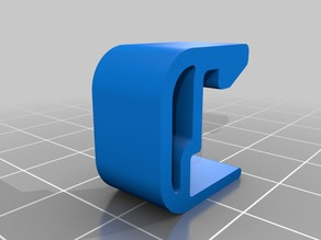 Flashforge Creator Pro 3mm Glass Bed clip