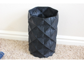 Vase printed in vase mode