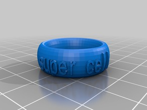My Customized Text Ring/Bracelet/Crown Thing