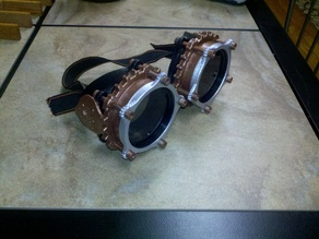 Steampunk Goggle Hex Head Bolt Remix