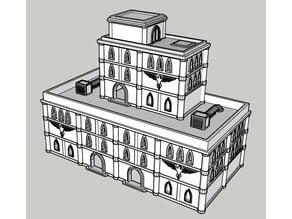 Adeptus Titanicus Building No.3 - Intact