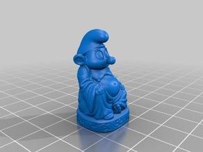 Smurf Buddha
