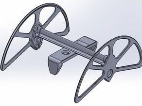 """360 degree flip """"sled"""" for HexBug Strandbeast"""