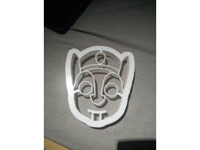 paw patrol chase cookie cutter