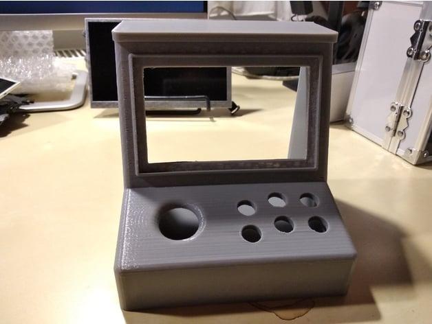 Mini Bartop Arcade Machine Raspberry Pi by halukcan