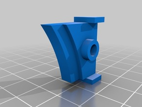 Anycubic Kossel bed clip