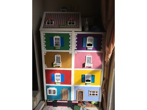 puertas ventanas balcones casa playmobil