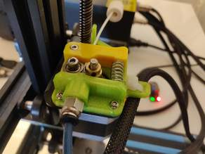 Flexible Friendly Extruder for CR-10 or Ender 3