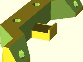 OpenSCAD version of OpenX Carriage Arm