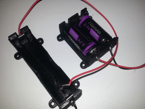 Polarized Parametric Battery Holder
