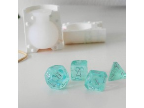 Positive Polyhedral Dice Mold