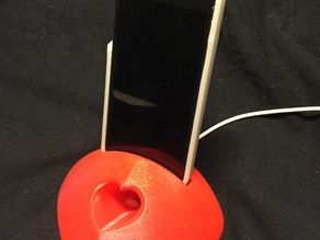 Iphone 5 Heart Stand with Amp
