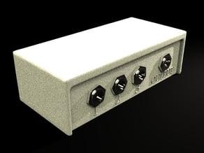 Audio mixer housing