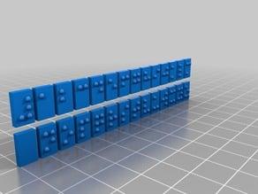Braille Blocks / Alphabet