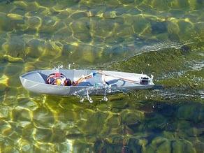 Motor Boat RC enlarged (experimental)