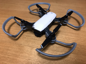 Printable Propeller Guard for DJI Spark