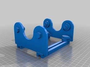 Adjustable Spool Holder - 608 Bearing Based - With Adjustment Knobs