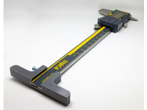 "iGaging Caliper Depth Base T-Bar Attachment for Dial/Digital/Vernier Calipers 6"" & 8"""