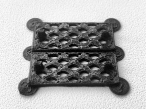 Water drain grid for Opel Tigra A