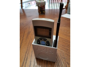A4s Remote and brush wall holder