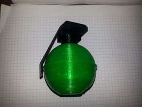 Airsoft Grenade BB container M67