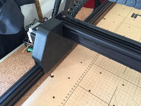 X-Carve Y-Carriage Dust Covers