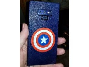 Captain's Shield Note 9 Phone Case