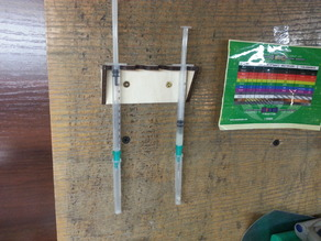 Laser Cut: Small syringe rack