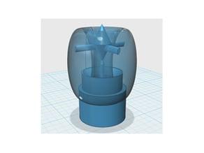 Water/air jet valve