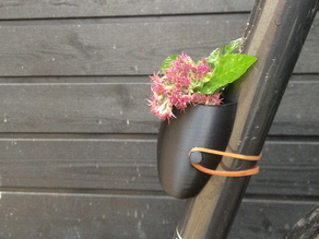 Bike Planter - Now easier to print
