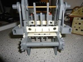 3-bit Mechanical Punch Card Reader