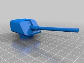 Gun for the Todt Battery Bunker