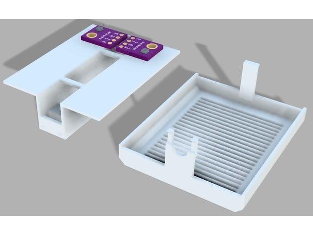 Sensor housing for dry aging fridge for BME280, SHT31, ccs811 etc