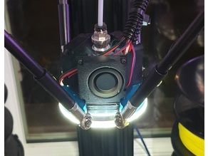 Predator fan duct and led ring