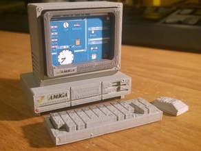 Mini Commodore Amiga A1000
