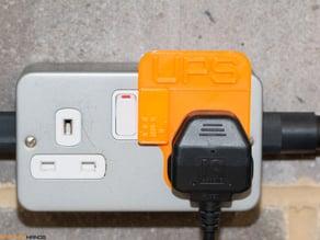 UK Plug Block, Switch Guard