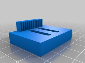 X-Axis Linear Rail Carriage Adapter for 3D Systems Cube3