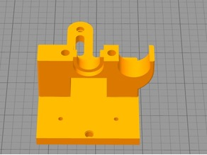Hypercube_Linear_Rail_E3D_Mount 18mm