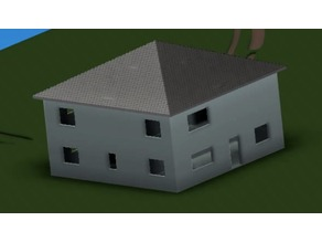 Printed Building Concept - Home Model